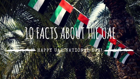 10 Things You Didn't Know About The UAE – UAE National Day!